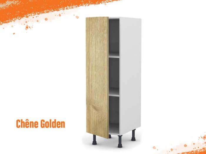 Meuble Armoire chêne golden 40 cm