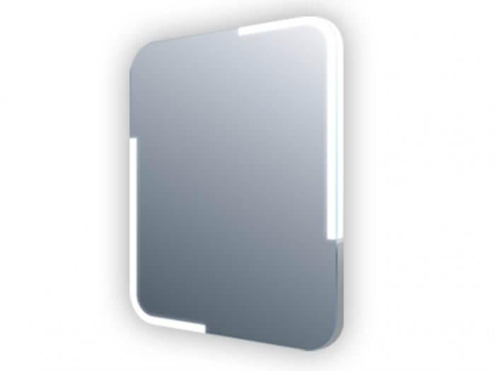 Miroir led - Eclairage dans les angles 60x60cm