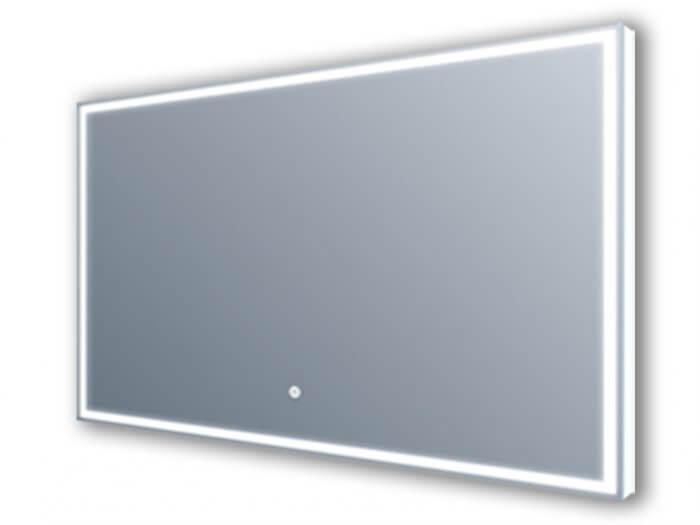 Miroir led - Éclairage autour et par l'arrière 120x60 cm