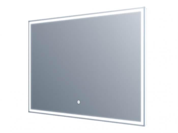 Miroir led - Eclairage autour et par arrière 60x60cm